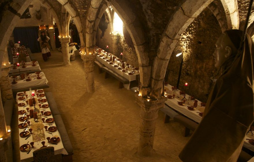 Banquet of Troubadours, medieval banquet in Provins