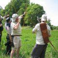 Tir à l'arc avec Les Archers de Chalmaison, proche de Provins