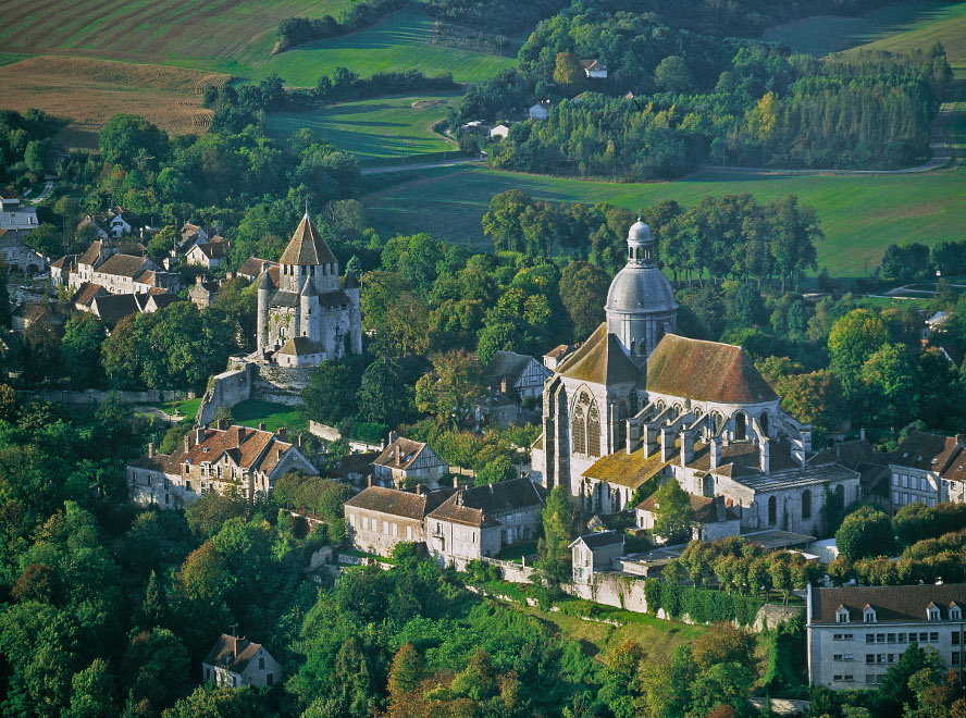 The medieval town of Provins