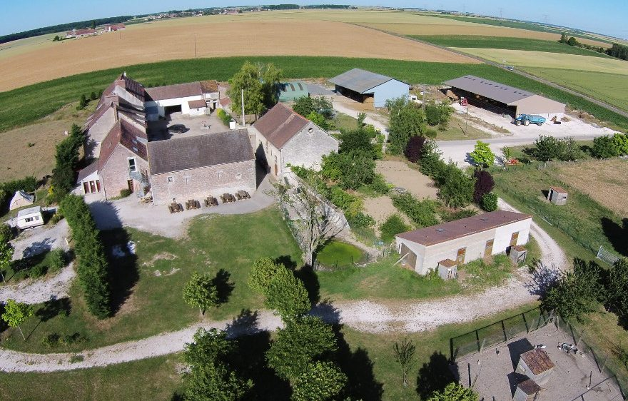 Educational Farm of La Mercy, in Chenoise, close to Provins