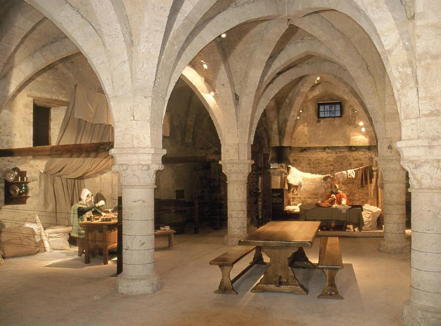 La Grange aux dîmes, monument de la cité médiévale de Provins