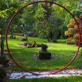 La Parmélie Garden, in the village of Doue, close to Provins