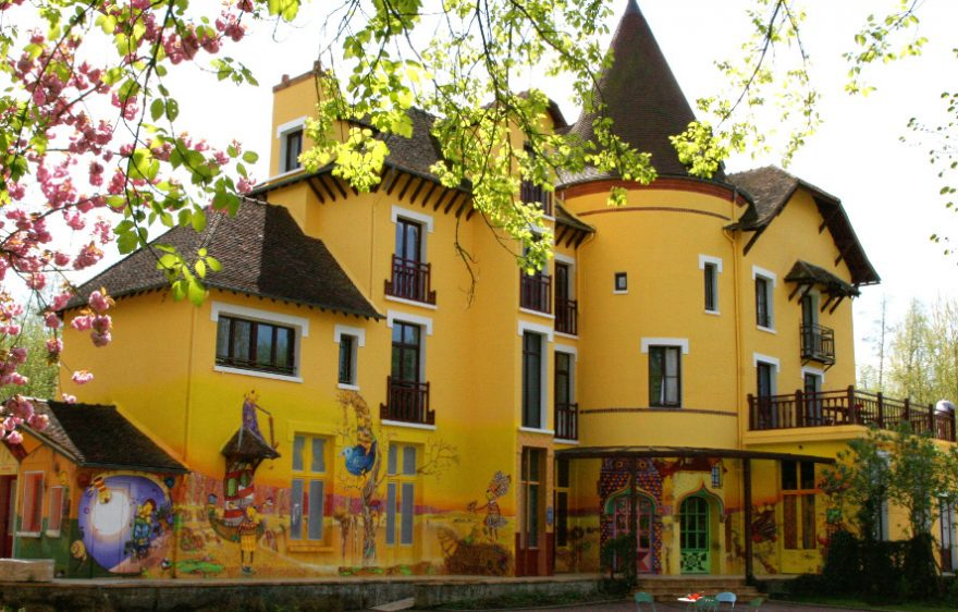 Jardin Le Moulin Jaune, à Crécy-la-Chapelle proche de Provins
