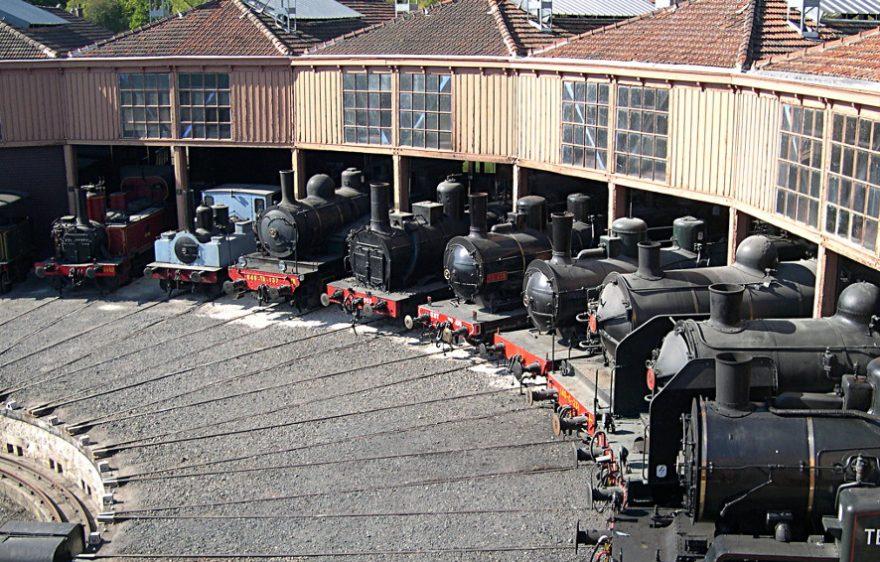 AJECTA, Musée Vivant du Chemin de Fer, à Longueville proche de Provins