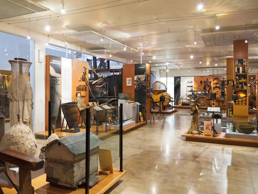 Museum of Seine-et-Marne, in Saint-Cyr-sur-Morin, close to Provins