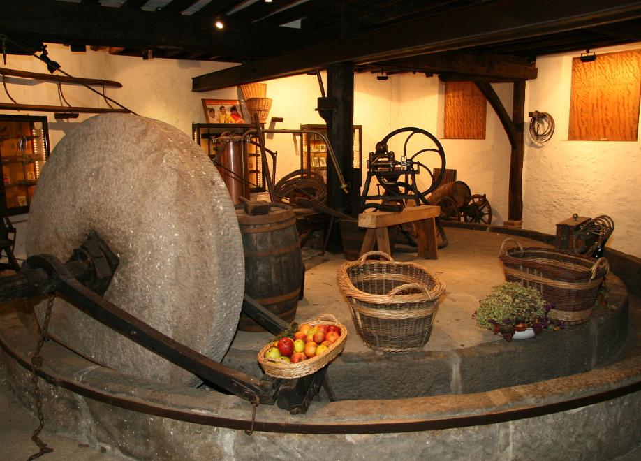 Le pressoir de Beton-Bazoches, proche de Provins