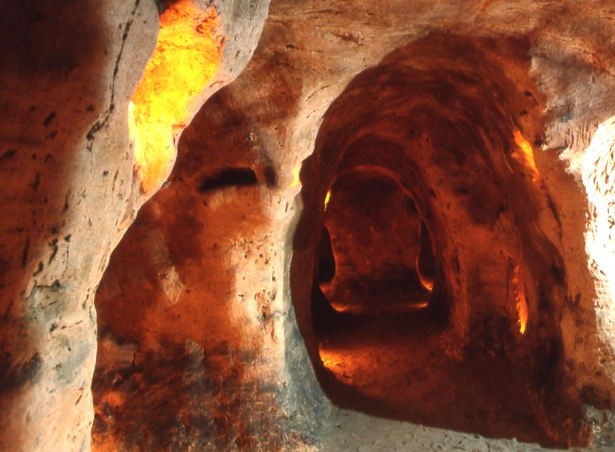 Les souterrains, monument de la cité médiévale de Provins