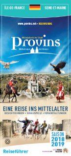 Brochure Guide du Visiteur de Provins en Allemand