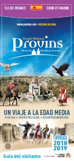 Brochure Guide du Visiteur de Provins en Espagnol