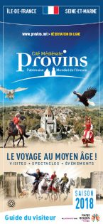 Brochure Guide du Visiteur de Provins en Français