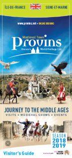 Brochure Guide du Visiteur de Provins en Anglais