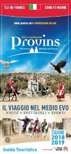 Brochure Guide du Visiteur de Provins en Italien