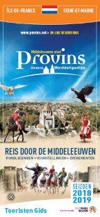 Brochure Guide du Visiteur de Provins en Néerlandais