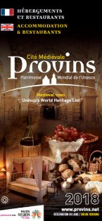 Brochure Hébergements et Restaurants de Provins