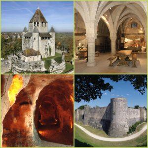 Planche photos des monuments historiques de Provins pour la presse