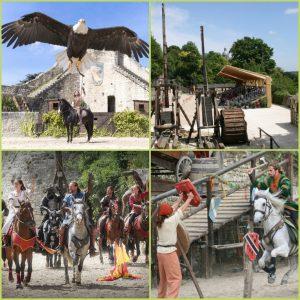 Planche photos des spectacles médiévaux de Provins pour la presse