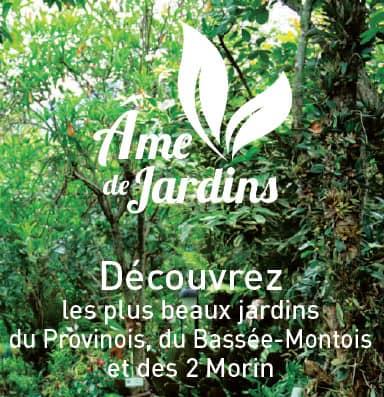 Brochure Âme de Jardins, the most beautiful gardens in Provins and its region