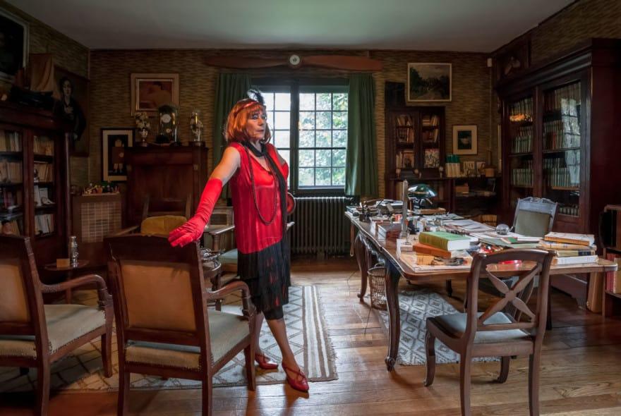Visite théâtralisée de la Maison Mac Orlan, à Saint-Cyr-sur-Morin, proche de Provins