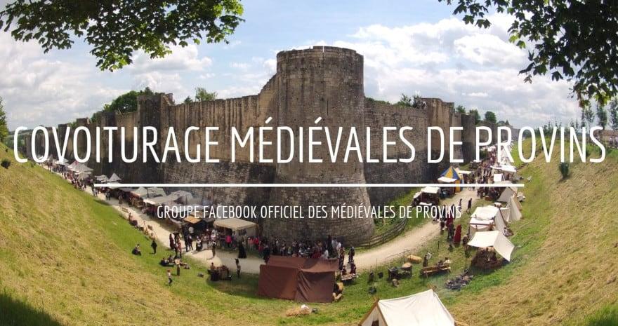Venir aux Médiévales de Provins en covoiturage