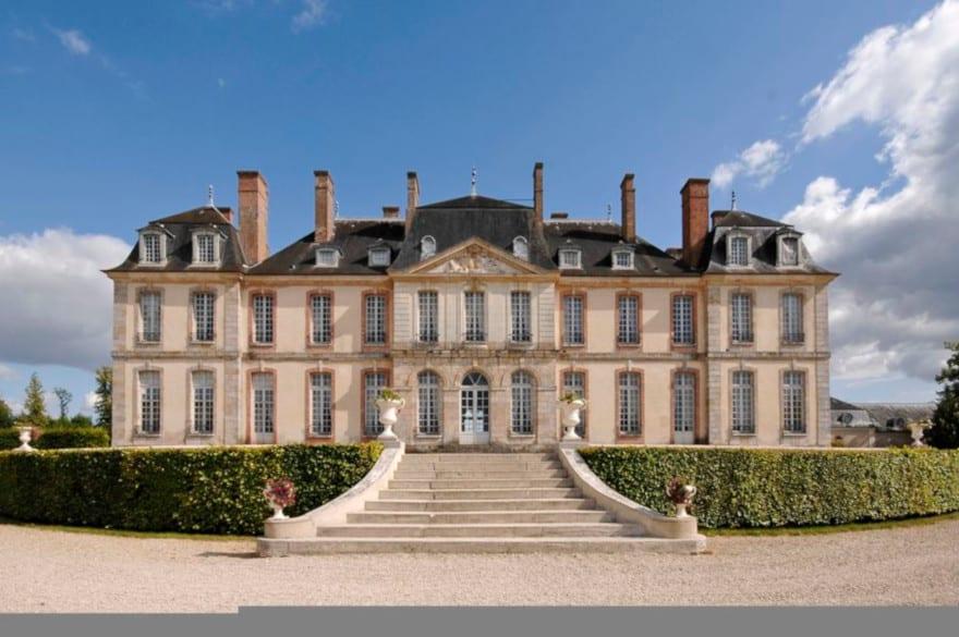 Le Château de la Motte-Tilly, proche de Provins