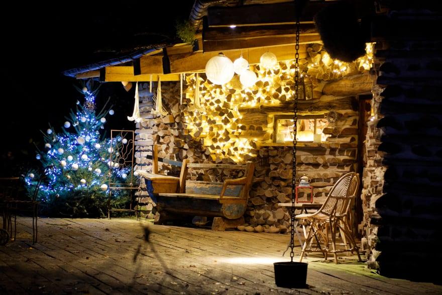 Féeries de Noël au Jardin, à Verdelot, proche de Provins