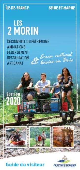 Brochure Guide du Visiteur des 2 Morin, région de Provins