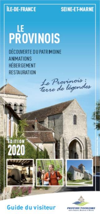 Brochure Guide du Visiteur du Provinois, région de Provins