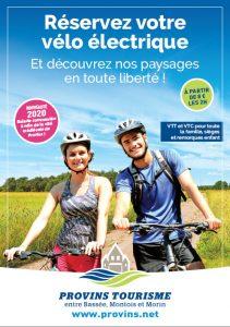 Location de vélos électriques à Provins et sa région