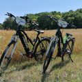 Electric trekking bike and all-terrain bike rental in Provins and its region