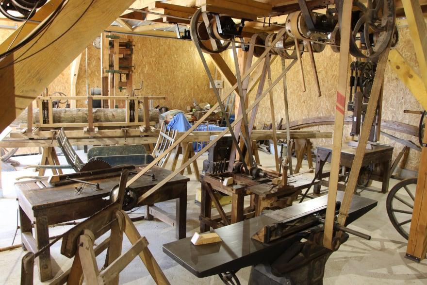 Eco Musée du Bassée-Montois, à Luisetaines proche de Provins