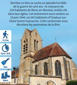 Le 11 x 20 + 14, hiking circuit in the Bassée-Montois, region of Provins