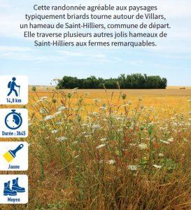 Autour de Villars, randonnée pédestre dans le Provinois, région de Provins