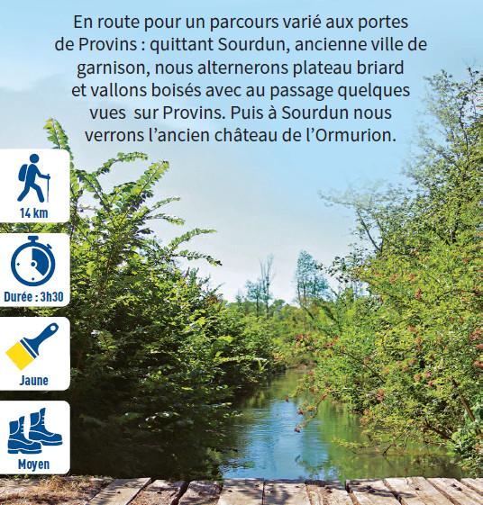 Aux sources de la Vicomté, randonnée pédestre dans le Provinois, région de Provins