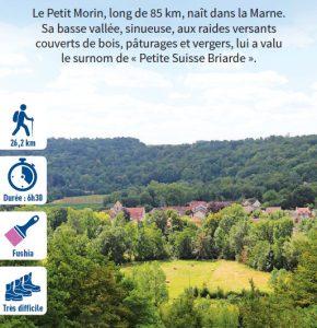 La vallée du Petit-Morin, randonnée pédestre dans la Vallée des 2 Morin, région de Provins
