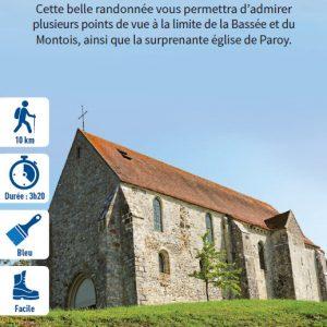 Luisetaines, le marais de l'Auxence, hiking circuit in the Bassée-Montois, region of Provins