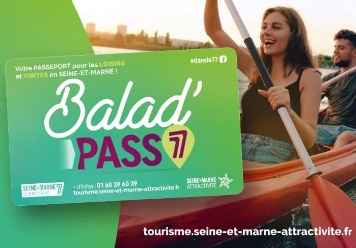 La Carte Balad'Pass 77 de Seine-et-Marne Attractivité