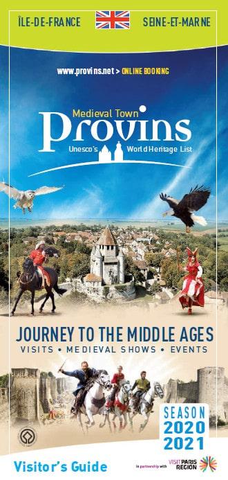 Guide du Visiteur de Provins en Anglais
