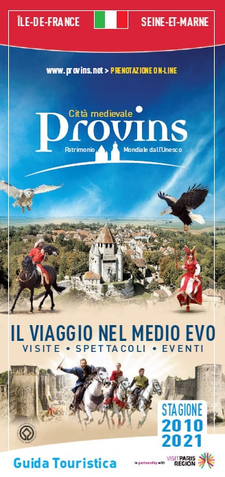 Visitor's guide of Provins in Italian