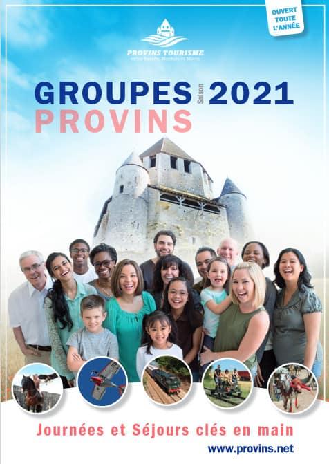 Groupes adultes et familles 2021, à Provins Tourisme entre Bassée, Montois et Morin