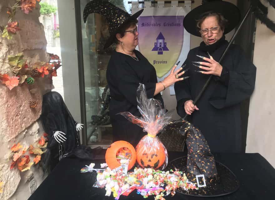 La Chasse au Chaudron magique, Halloween à Provins