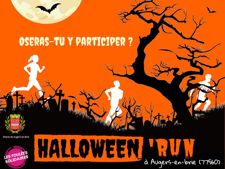 Halloween'Run, course et trail à Augers-en-Brie, proche de Provins