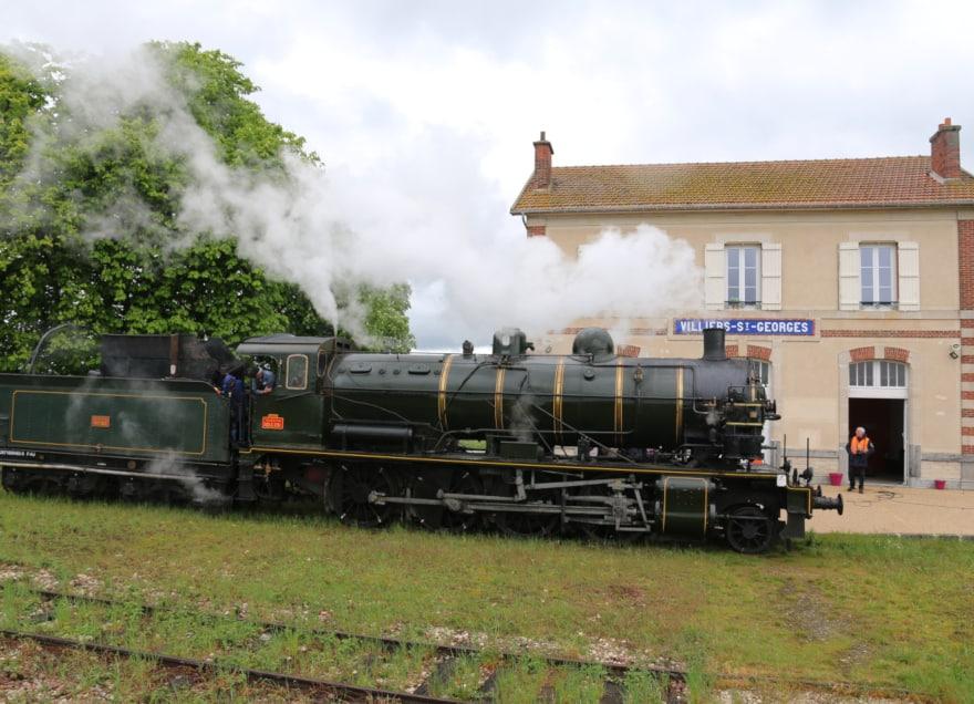 Le Train de la Citrouille, au Musée Ajecta, à Longueville proche de Provins
