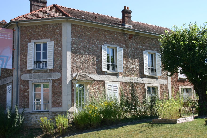 Museum of Seine-et-Marne, in Saint-Cyr-sur-Morin close to Provins
