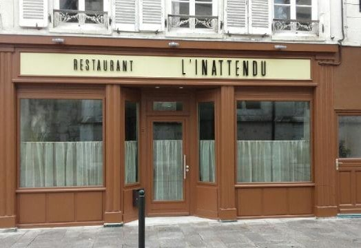 L'Inattendu, restaurant à Provins