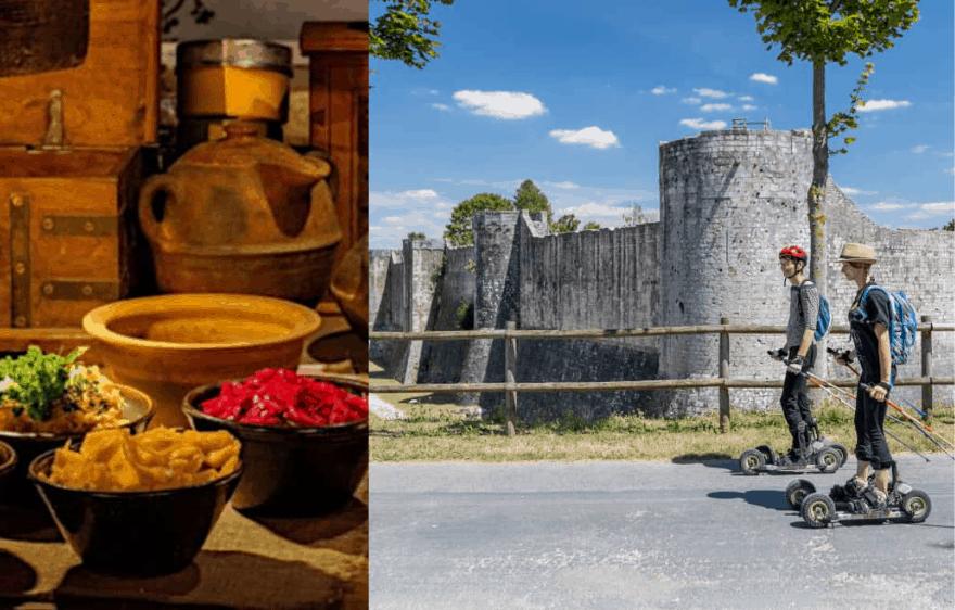 Escapade gourmande et sportive à Provins