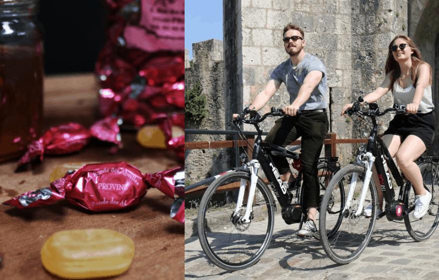 Escapade à vélo et découverte de la rose de Provins