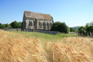Chapelle de Lourps dans le Provinois, région de Provins