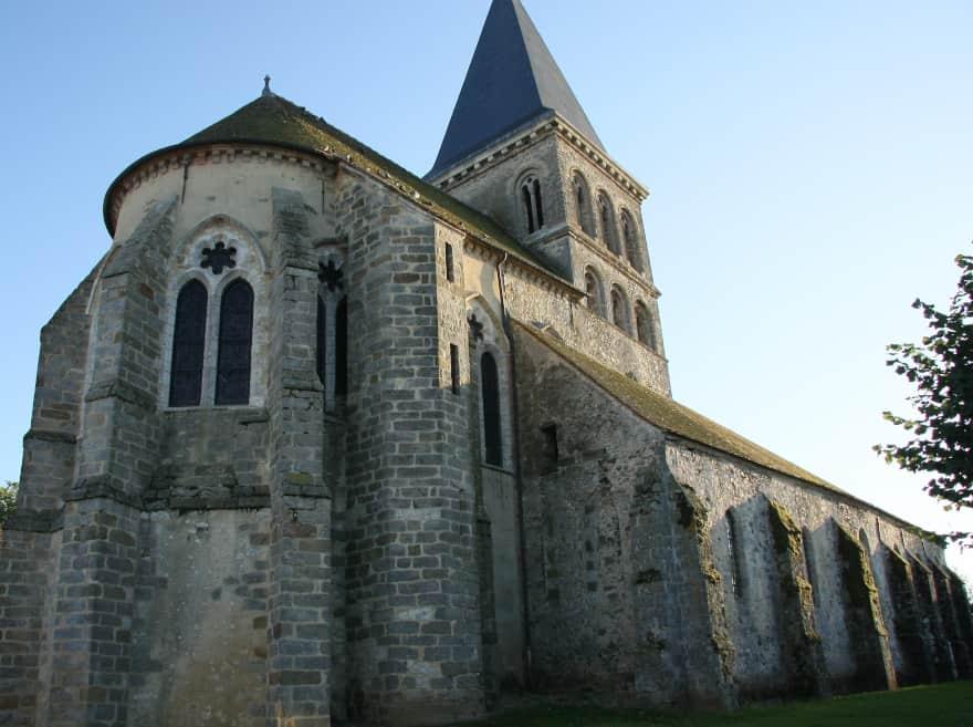 Eglise Saint-Pierre de Beauchery-Saint-Martin, dans le Provinois, région de Provins