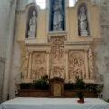 Saint-Denis church of Beton-Bazoches, close to Provins