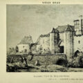 Ancienne porte fortifiée de Bray-sur-Seine, dans le Bassée-Montois, région de Provins